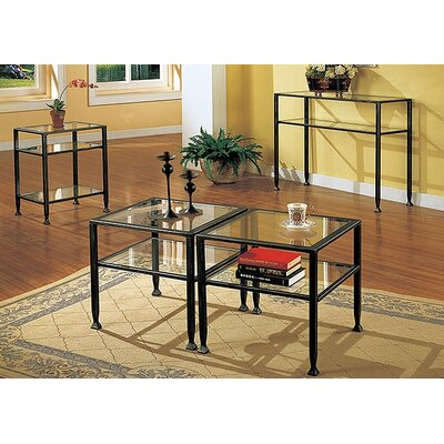 Wu 3 Piece Coffee Table Set