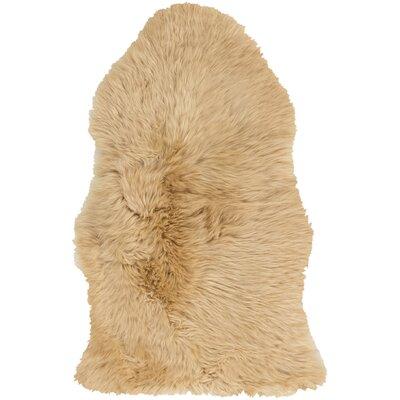 West Hewish Hand-Woven Beige Area Rug Rug Size: 2 x 3