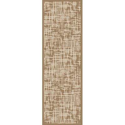 Westbury Brown/Beige Indoor/Outdoor Area Rug Rug Size: Runner 23 x 79