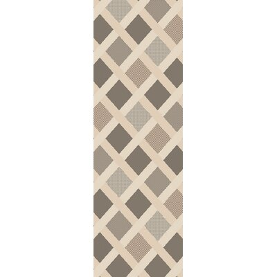 Westbury Beige Indoor/Outdoor Area Rug Rug Size: Runner 23 x 79