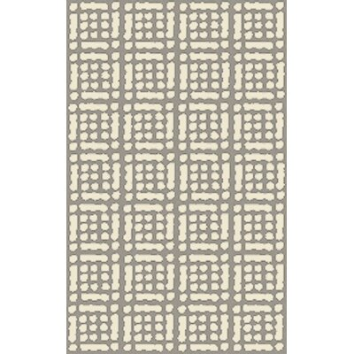 West Hill Hand-Hooked Beige Indoor/Outdoor Area Rug Rug Size: 2 x 3