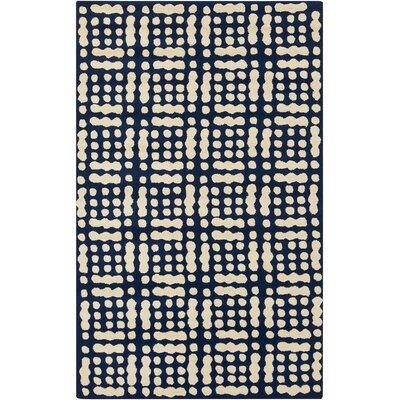 West Hill Blue/Beige Indoor / outdoor Area Rug Rug Size: 5 x 76