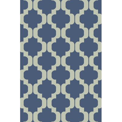 West Harptree Blue Area Rug Rug Size: 2 x 3