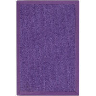 Walton in Gordano Hand Woven Purple Area Rug Rug Size: 8 x 10