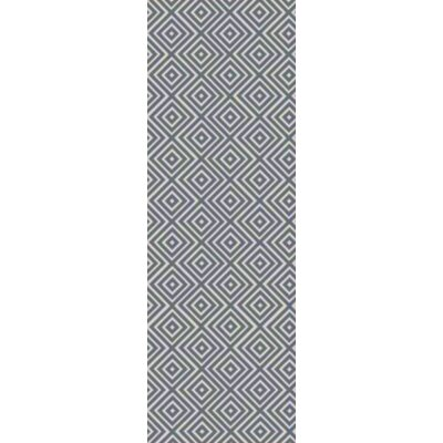 Warmley Hand Woven Gray Area Rug Rug Size: Runner 26 x 8