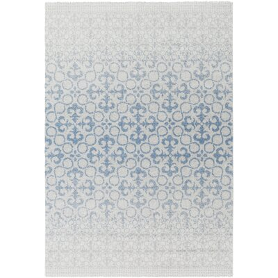 Upton Cheyney Gray Area Rug Rug Size: Rectangle 4 x 56
