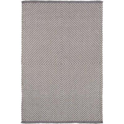 Walton Bay Hand-Woven Gray Indoor/Outdoor Area Rug Rug Size: 4 x 6