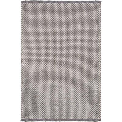 Walton Bay Hand-Woven Gray Indoor/Outdoor Area Rug Rug Size: 8 x 10