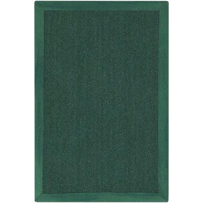 Walton in Gordano Hand-Woven Green Area Rug Rug Size: 9 x 13