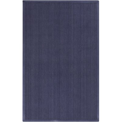 Walton in Gordano Hand-Woven Navy Area Rug Rug Size: Rectangle 2 x 3