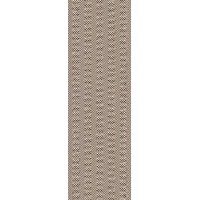 Tormarton Hand-Woven Gray Area Rug Rug Size: Runner 26 x 8