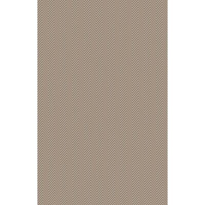 Tormarton Hand-Woven Gray Area Rug Rug Size: 5 x 8