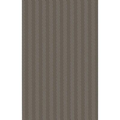 Tormarton Hand-Woven Brown/Gray Area Rug Rug Size: 8 x 11