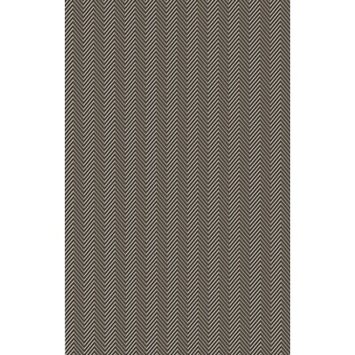 Tormarton Hand-Woven Brown/Gray Area Rug Rug Size: 5 x 8