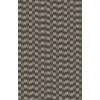 Tormarton Hand-Woven Brown/Gray Area Rug Rug Size: 2 x 3