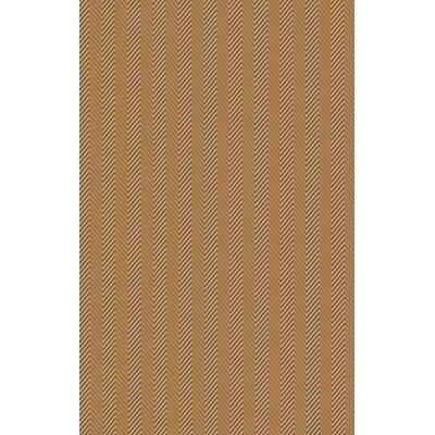 Tormarton Hand-Woven Brown Area Rug Rug Size: 33 x 53
