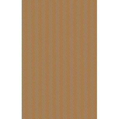 Tormarton Hand-Woven Brown Area Rug Rug Size: 8 x 11