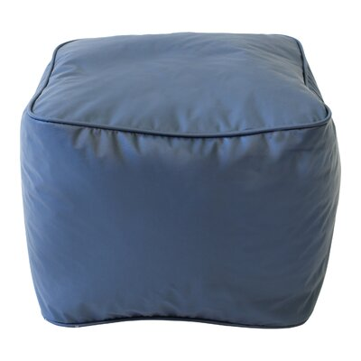 Abraham Bean Bag Chair Upholstery: Navy