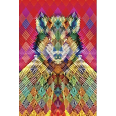 Corporate Wolf Ali Gulec Graphic Art on Wrapped Canvas Size: 12