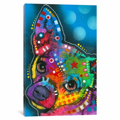 Determined Graphic Art on Wrapped Canvas Size: 12