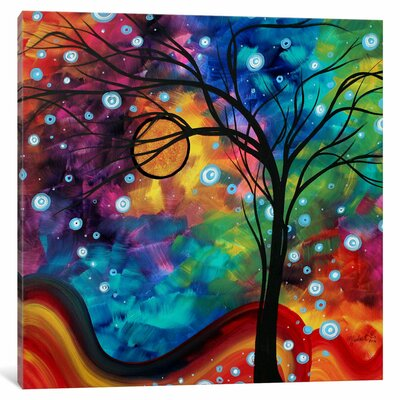 Winter Cold by Megan Duncanson Graphic Art on Wrapped Canvas Size: 12