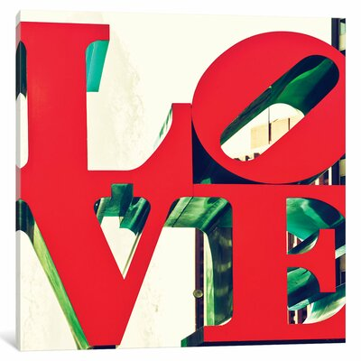 Love by Philippe Hugonnard Graphic Art on Wrapped Canvas