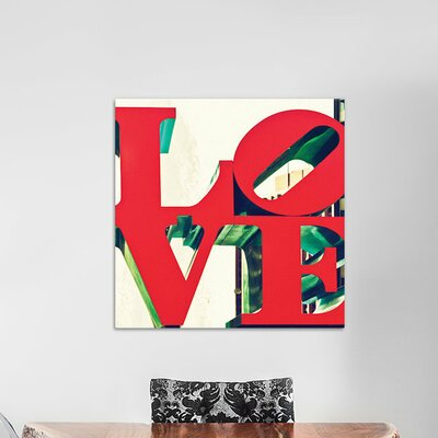 Love by Philippe Hugonnard Graphic Art on Wrapped Canvas Size: 18