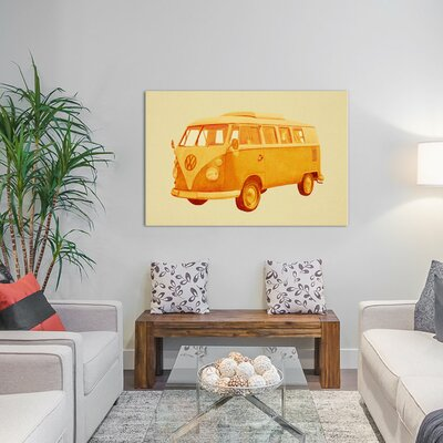 Summer Ride by Terry Fan Graphic Art on Wrapped Canvas Size: 12