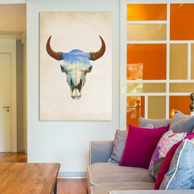Big Sky Portrait by Terry Fan Graphic Art on Wrapped Canvas