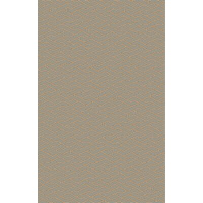 Amezquita Hand-Woven Taupe Area Rug Rug Size: Rectangle 4 x 6