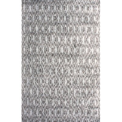 Arenas Hand-Woven Charcoal Area Rug Rug Size: 6 x 9