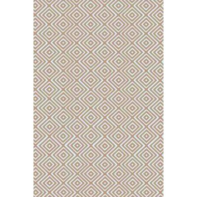 Arenas Hand-Woven Ivory Area Rug Rug Size: Rectangle 6 x 9