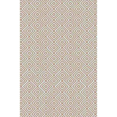 Arenas Hand-Woven Ivory Area Rug Rug Size: 4 x 6