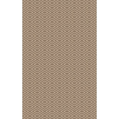 Arcuri Hand-Woven Beige/Ivory Area Rug Rug Size: Rectangle 5 x 76