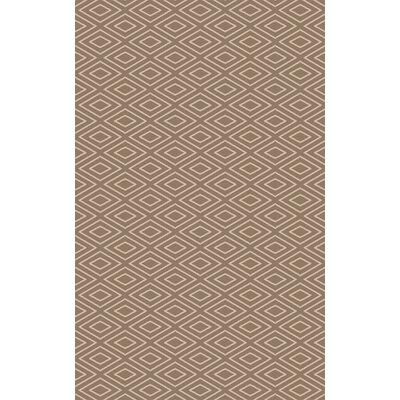 Arcuri Hand-Woven Beige/Ivory Area Rug Rug Size: 5 x 76
