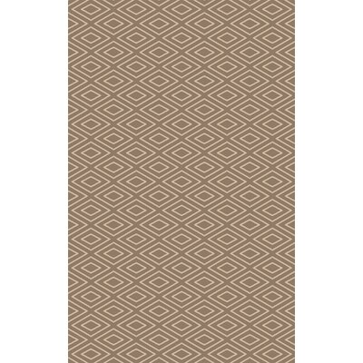 Arcuri Hand-Woven Beige/Ivory Area Rug Rug Size: 2 x 3