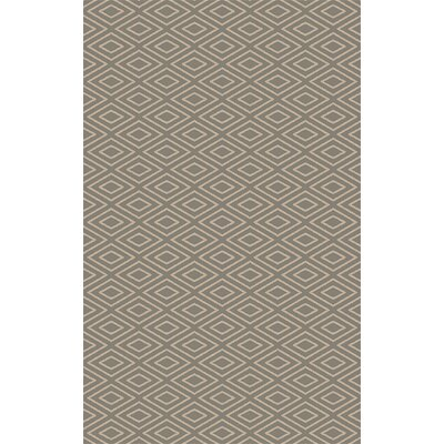 Arcuri Hand-Woven Beige/Taupe Area Rug Rug Size: 2 x 3