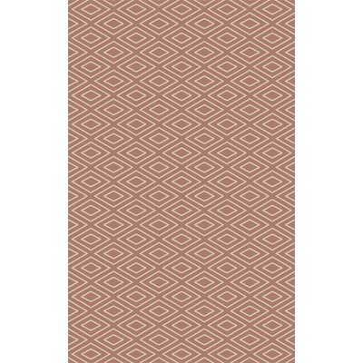 Arcuri Hand-Woven Beige/Mocha Area Rug Rug Size: Rectangle 4 x 6