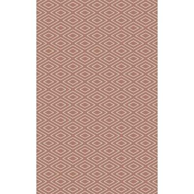 Arcuri Hand-Woven Beige/Mocha Area Rug Rug Size: 8 x 10