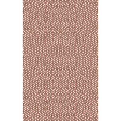 Arcuri Hand-Woven Beige/Mocha Area Rug Rug Size: 4 x 6