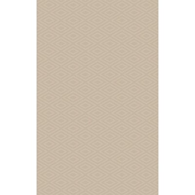 Arcuri Hand-Woven Beige Area Rug Rug Size: Rectangle 6 x 9