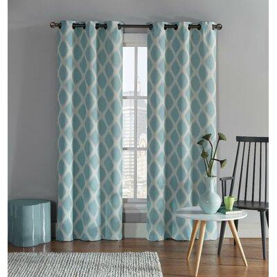 Ayla Ikat Blackout Grommet Curtain Panel