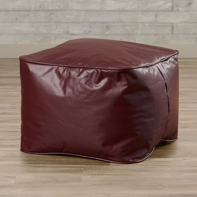 Abraham Bean Bag Chair Upholstery: Wine