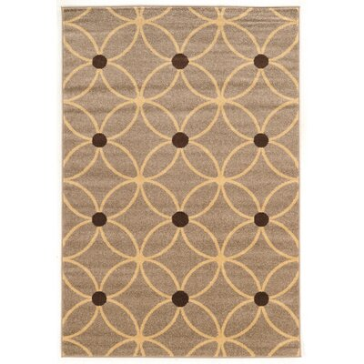 Fremantle Beige Area Rug Rug Size: Rectangle 5 x 7