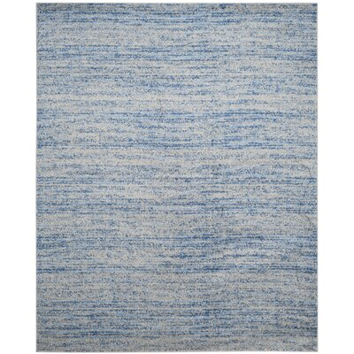 Millbrae Blue/Gray Area Rug Rug Size: Rectangle 4 x 6