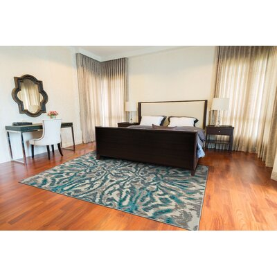 Sutton Place Aqua/Haze Area Rug