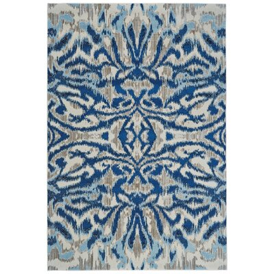 Beach Channel Blue Haze Area Rug Rug Size: Rectangle 53 x 76