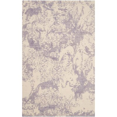 Tenth Avenue Hand-Tufted Grey / Ivory Area Rug Rug Size: 8 x 10