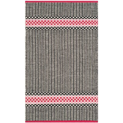 Shevchenko Place Hand-Woven Light Pink Area Rug Rug Size: Rectangle 4 x 6