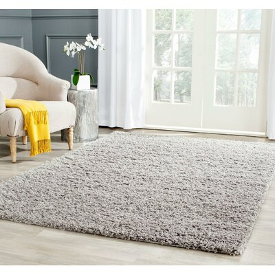 Wilder Light Grey Area Rug Rug Size: 4 x 6